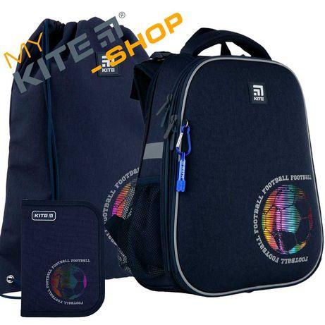 Школьный набор 3в1 КАЙТ KITE Рюкзак сумка пенал для мальчика