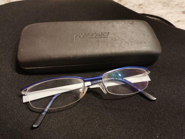 Okulary zerówki z antyrefleksem