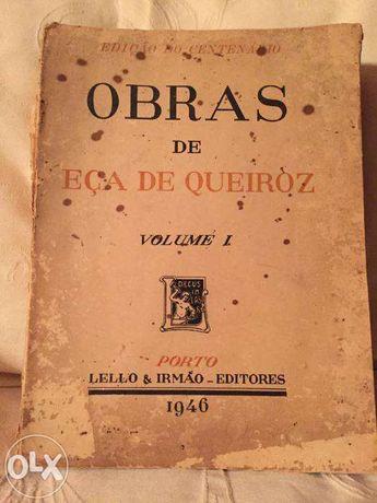 """Livro Antigo-Eça de Queiroz """"Crime do Padre Amaro"""""""