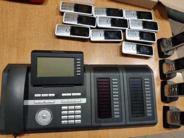 Telefon systemowy Siemens OpenStage 40G + 2szt Key Module