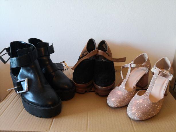 Calçado de Mulher *Sapatos 37 e Ténis 36
