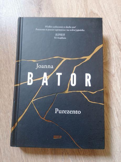 Joanna Bator Purezento Nowa!