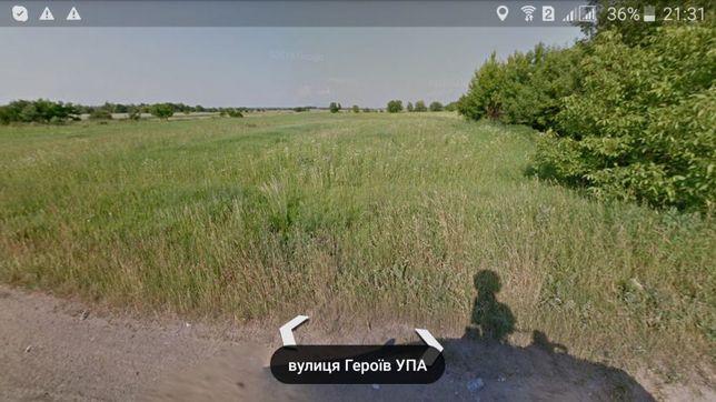 Продам земельну ділянку Луцьк,р.нВишків (с.г призначення)
