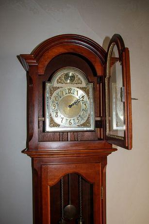 Часы напольные с Германии на 2 гире с боем / годинник підлоговий1