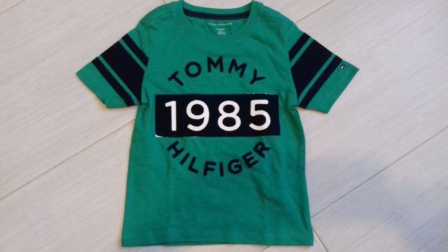 Sprzedam t-shirt dziecko TOMMY HILFIGER rozmiar z metki 4-5 nowa