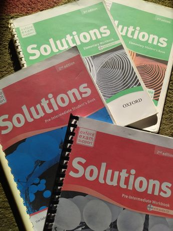 Solutions Elementary, Solutions Pre-intermediate Student's & Work book