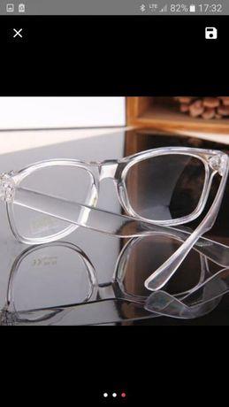 Oprawki okulary przezroczyste męskie damskie moda stan NOWY