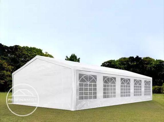 5x10 m Namiot imprezowy, ogrodowy, PE 180 g/m², biały, gratis wysyłka