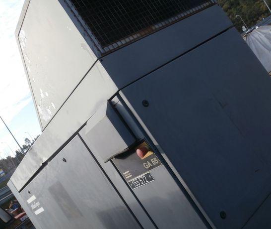 Compressor Elétrico GA55 - Usado