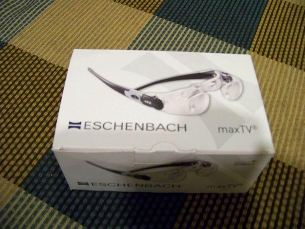 Okulary Eschenbach max tv,z lupą, soczewkowe 2x