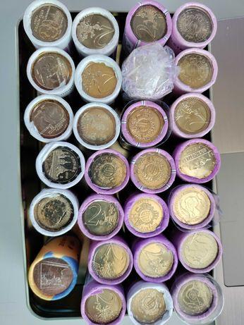 Rolos moedas 2 euros