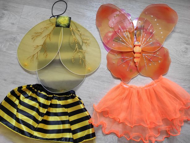 Карнавальный костюм пчёлки ,бабочки .