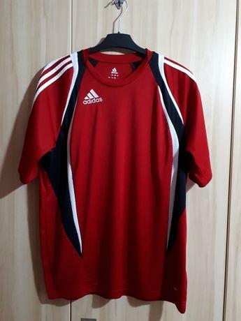 Bluzka Adidas do biegania  na trening  rozmiar L