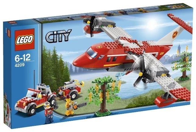 Lego 4209 City Пожарный самолет