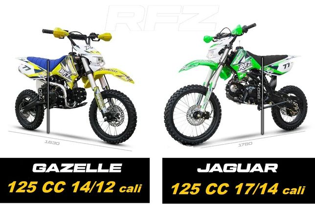 Cross 125 Apollo RFZ Gazelle 14/12 Jaguar 17/14 kros mrf RATY