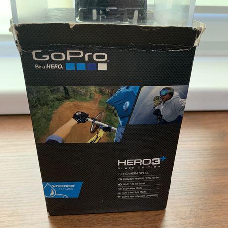 GoPro hero 3+ Model Black Edition