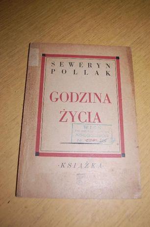"""Książka """"Godzina życia"""" Seweryn Pollak"""