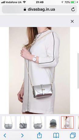 Новая кожаная сумка. Как на витрине итальянского магазина!