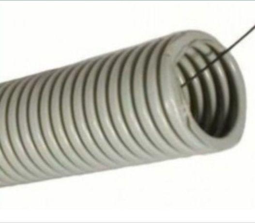 Гофра для провода с протяжкой ф 40мм