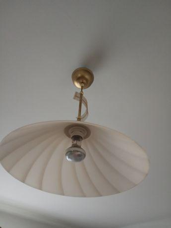 Żyrandol złoty ,- włoska firma
