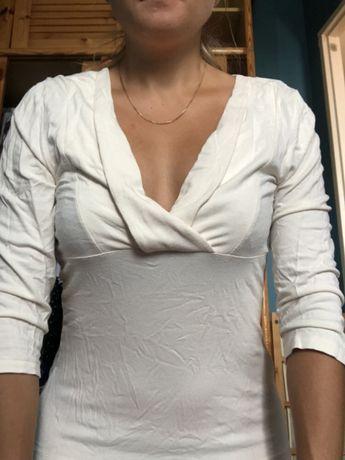 Kremowa bluzka H&M