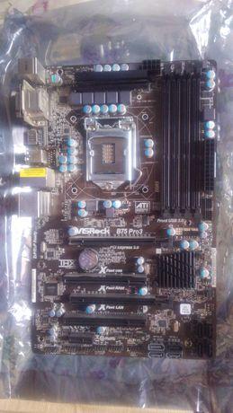 Продам набор на S1155 (Asrock B75 Pro 3 + Xeon E3-1230 V2), обмен