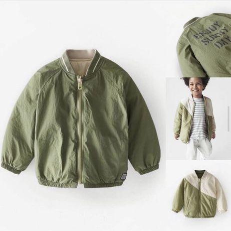 Новая двухсторонняя куртка Zara 18-24