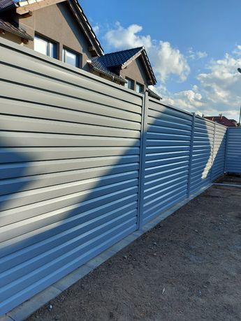 Ogrodzenie Żaluzja, system Żaluzja, brama, furtka, ogrodzenie