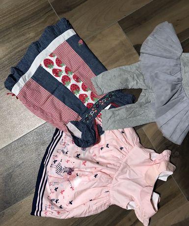 Ubranka 6-12 miesięcy dla dziewczynki