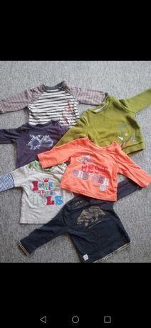 6 szt bluz 3-6 msc chłopięce
