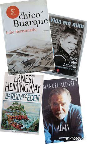 Vários livros de leitura