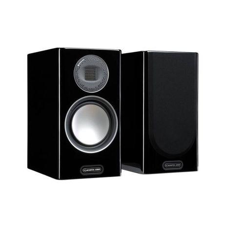 Monitor Audio Gold 100 (5G) Czarny Lakier - Kolumny podstawkowe