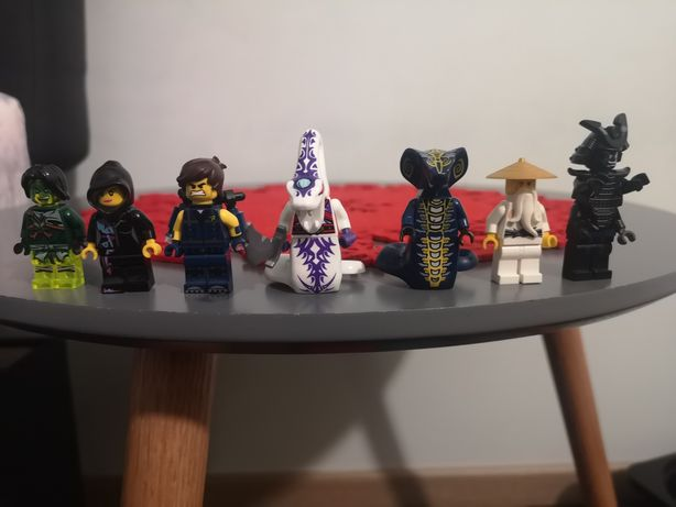 Figurki lego ninjago i lego przygoda*unikaty *