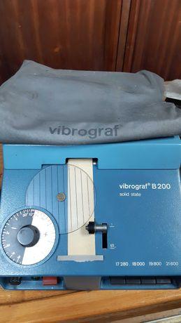 Máquina Vibrograf para testar relógios