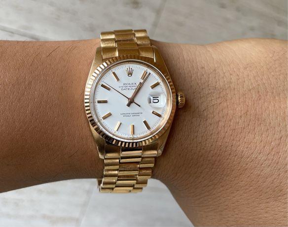 Rolex Datejust 36mm - Ouro - 1601 - 18K