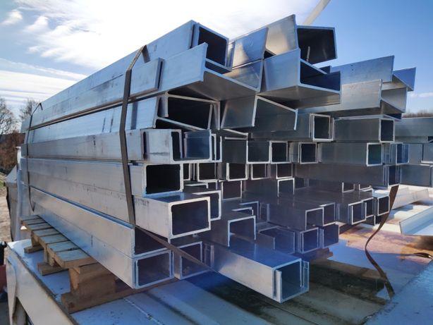 Belki aluminiowe, profil alumniowy ramy, poprzeczki 160cm.