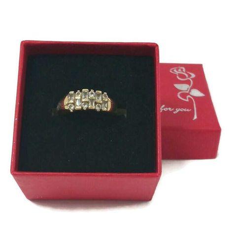 Wyrób jubilerski używany - złoty pierścionek 585/r18