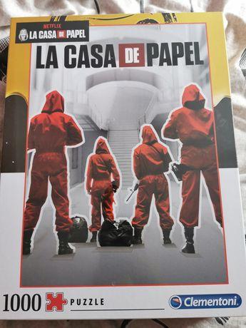 """Puzzle 1000 elementów 'LA CASA DE PAPEL"""""""