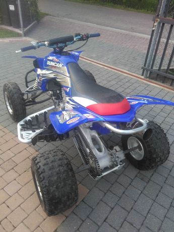 quad Yamaha raptor 450 yfz z uszkodzona glowica