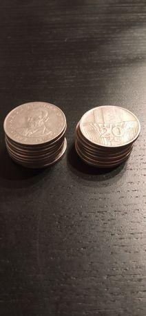 20 zł Nowotko i wieżowiec zestaw 16 monet
