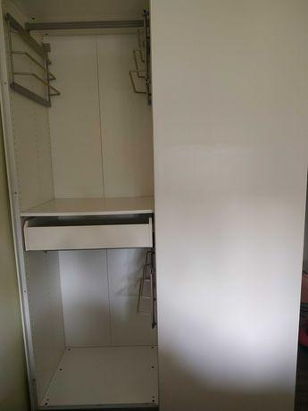 Roupeiro branco IKEA