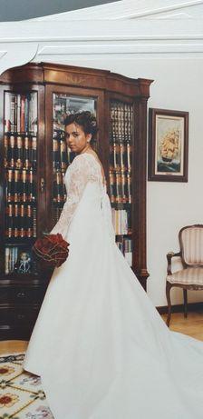 Vestido de noiva da Rosa Clará