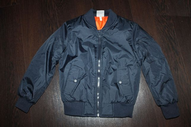 Куртка демисезонная бомбер детская BOCINI на 7-8 лет
