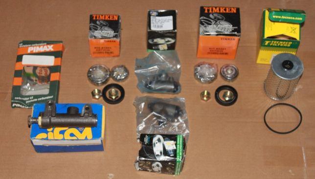 100Lote de peças Fiat 600 Novas e Usadas