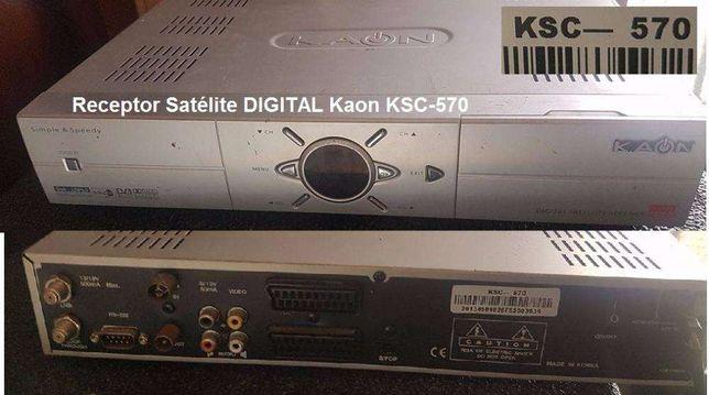 Receptor Satélite Digital - Kaon KSC-570