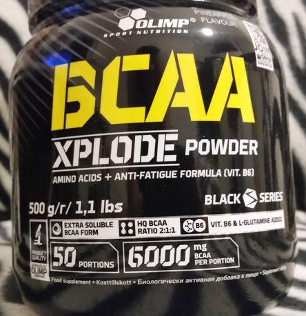 OLIMP BCAA XPLODE POWDER 500g Mocne Aminokwasy dieta sport suplement