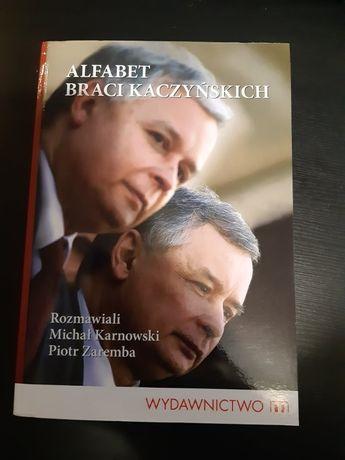 Alfabet braci Kaczyńskich autograf Jarosław Kaczyński
