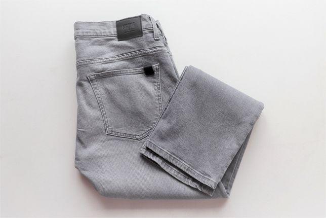 Męskie spodnie jeansy Big Star W33 L30 Slim Fit Leg Tapered jak nowe