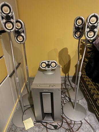 Zestaw głośników Sony Pascal 5.1 SA-VE705 stan dobry