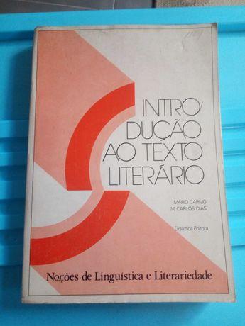 Introdução ao texto literário +Viagens na minha terra- Almeida Garrett